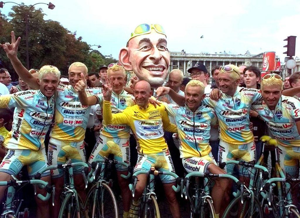 May, the month of Giro d'Italia