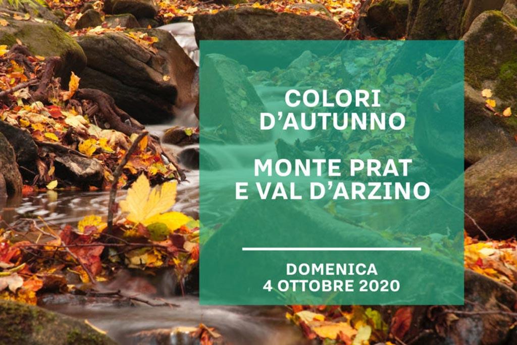 """Slide Escursione """"I colori dell'autunno. Monte prat e Val d'Arzino"""""""