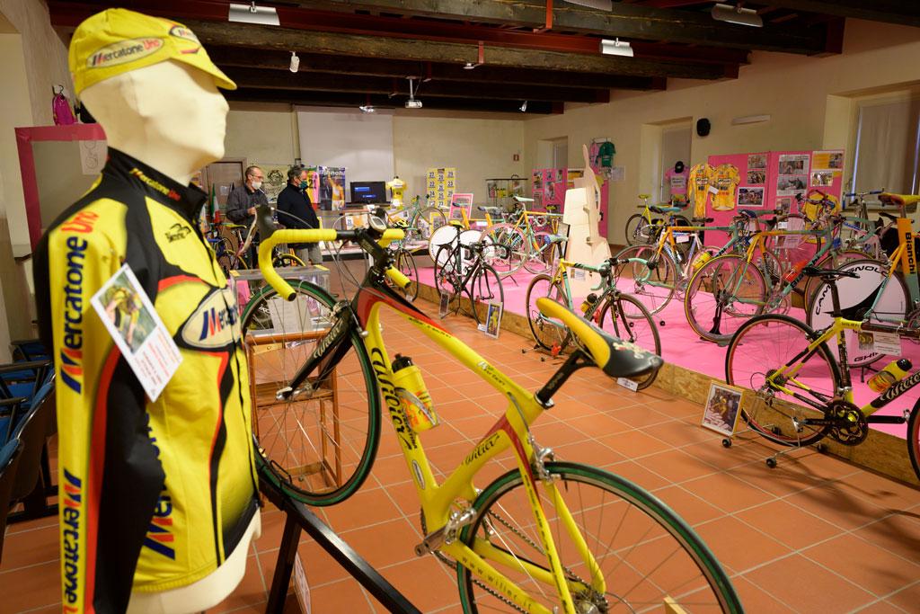 Slide 50Pantani – exhibition of Pantani's bikes and memorabilia
