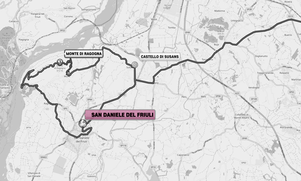 Waiting for the 16th stage of the Giro d'Italia 2020