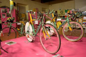 50Pantani – exhibition of Pantani's bikes and memorabilia