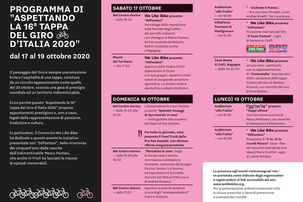 Aspettando la 16a Tappa del Giro d'Italia 2020