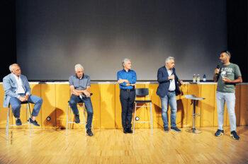 Moser, Argentin, Saronni: il talk show